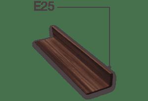 WPC(ไม้สังเคราะห์) E25